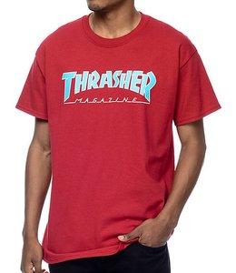 Thrasher OUTLINED  SHORT  SLEEVE TEE