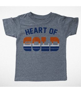Tiny Whales HEART OF GOLD TEE
