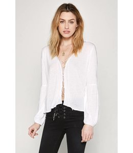 Amuse Society SPENCER KNIT TOP