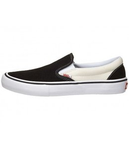 Vans SLIP-ON PRO BLACK/WHITE/WHITE