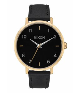 NIXON ARROW LEATHER GOLD
