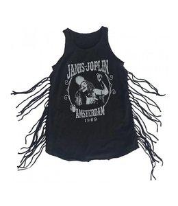 Rowdy Sprout JANIS JOPLIN BIKER FRINGE DRESS