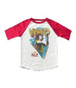 Rowdy Sprout THE WHO RAGLAN