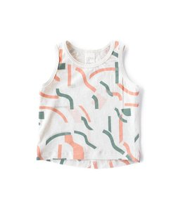 NORTH OF WEST COMPOSITION #3 TANK ROMPER