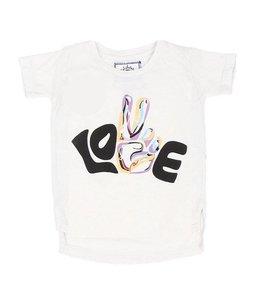 Cleobella LOVE PEACE TEE (LITTLES)