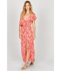 Amuse Society MIDNIGHT FLOWER DRESS