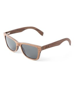 SHWOOD CANBY WALNUT SUNGLASSES