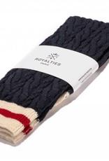 Royalties Paris Royalties Paris Torsades Chaussettes