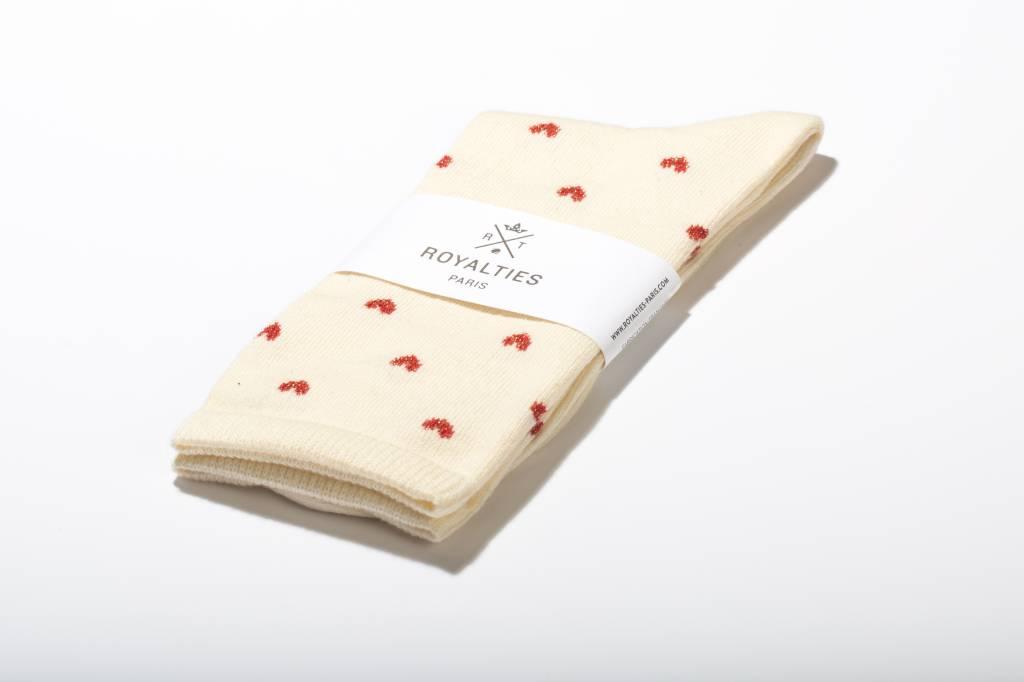 Royalties Paris *Betty* Heart Sock