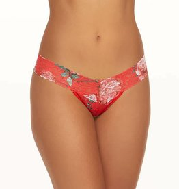 Hanky Panky Hanky Panky Holiday Blossom Thong Taille basse