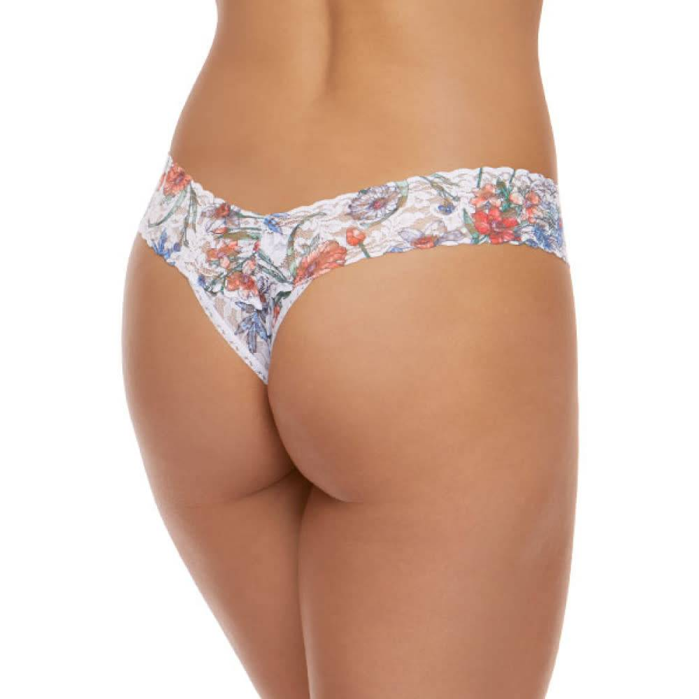 Hanky Panky Hanky Panky Cruise Fleur Thong Taille basse