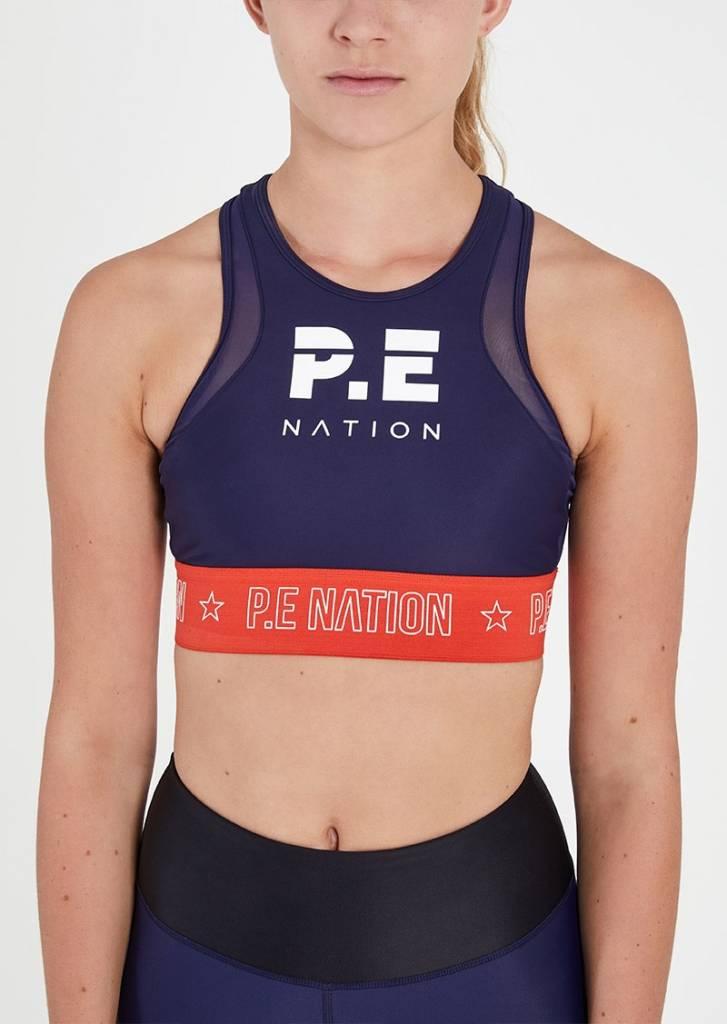 P.E Nation P.E Nation Figure Four Crop Soutien de sport