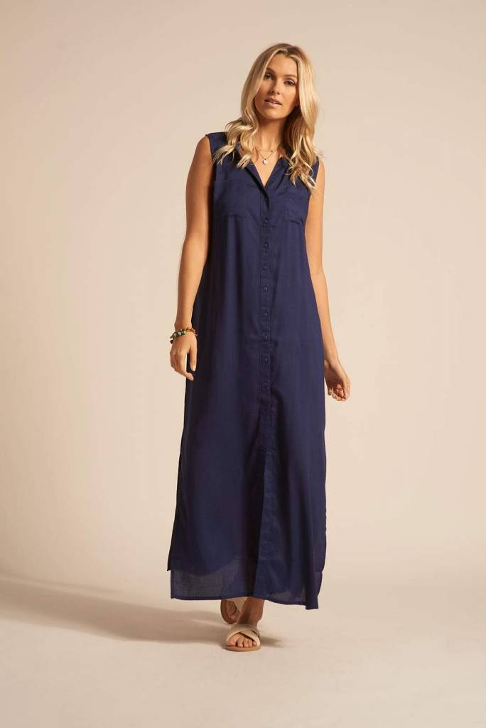 Koy Resort Koy Resort Palm Beach Maxi Shirt Dress
