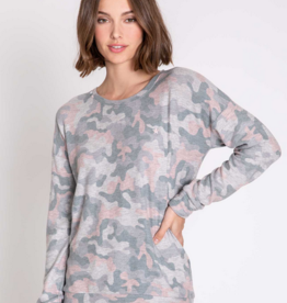 PJSalvage PJ Salvage Week-end Love Camo Ensemble pyjama