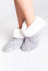 PJSalvage PJ Salvage Plush Bootie Slippers