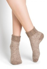 Bleu Foret Bleu Fôret Alpaca wool socks