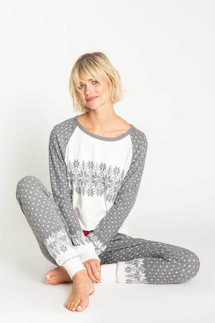 PJSalvage PJ Salvage Ensemble pyjama Île enneigée