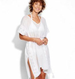 Seafolly Seafolly Shadow Embroidered Kaftan