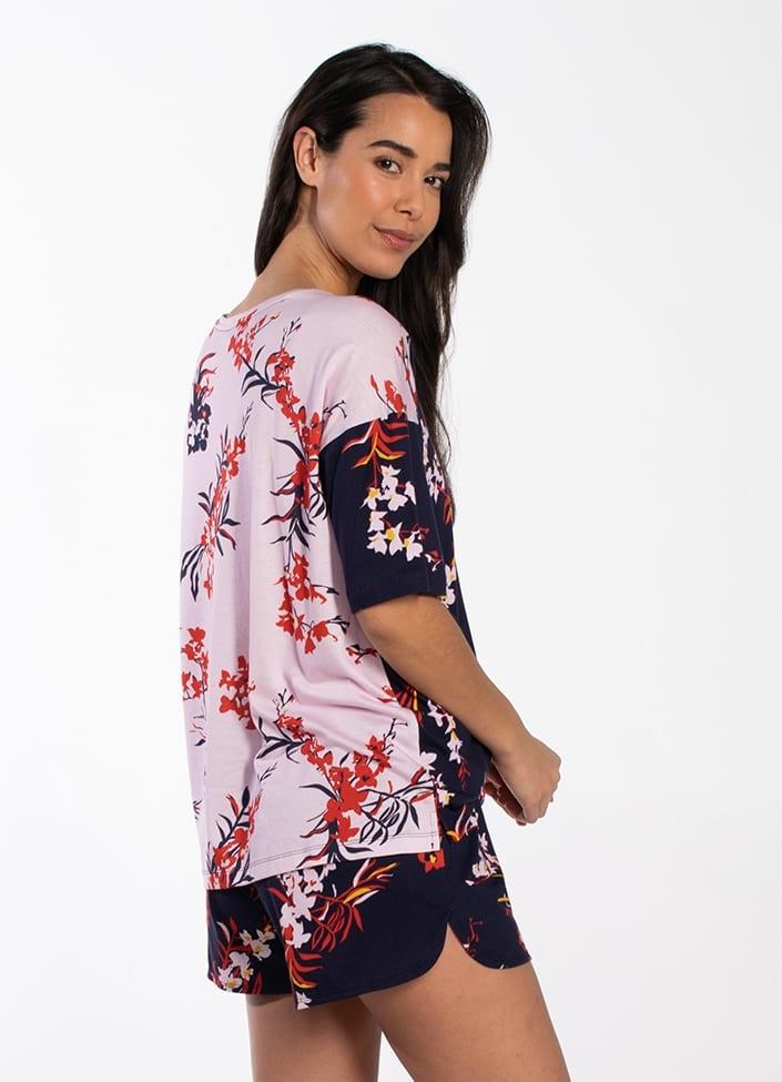 CYELL CYELL Orchid Shorts PJ Set