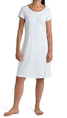 LingerieCourval P.Jamas Butterknit Short Sleeves Nightgown - Courval Fine  Lingerie d0d3bff84