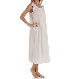 PJamas P.Jamas Tina Sleeveless Long Nightgown