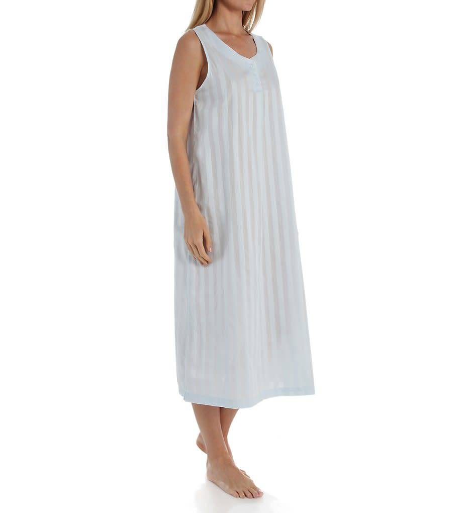 PJamas P.Jamas Tina Sleeveless Long Nightgown