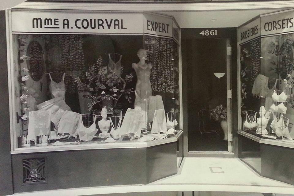 Lingerie Courval célèbre son 100e anniversaire!