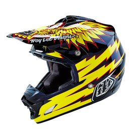 Troy Lee Designs Troy Lee Designs SE3 Flight XL (Black / Yellow) DOT