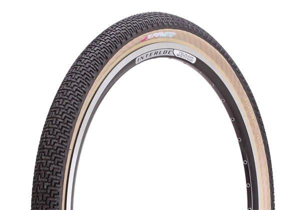 "DMR DMR SuperMoto K Tire 26"" x 2.2 (Black / Skinwall) Folding"