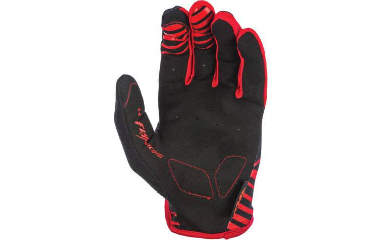 Fly Racing Fly Racing Media Glove (Black / Red)