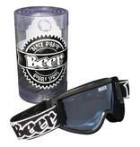 Beer Goggles Black Ribbon (Black/Blue) Optics