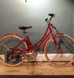 Vintage Public C7 Classic Dutch Bike 16 in Red