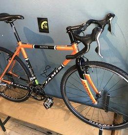 Jamis Jamis Nova w/ 9spd 105 & Carbon Fork Orange- 51 cm