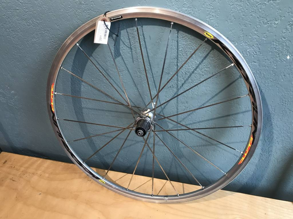 mavic Mavic Ksyrium Elite 10/11 speed 130mm Rear Wheel 700c Silver - Used Okay