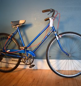 Dunelt Dunelt 3-Speed Cruiser 19 in Blue--AS IS, VINTAGE BIKE