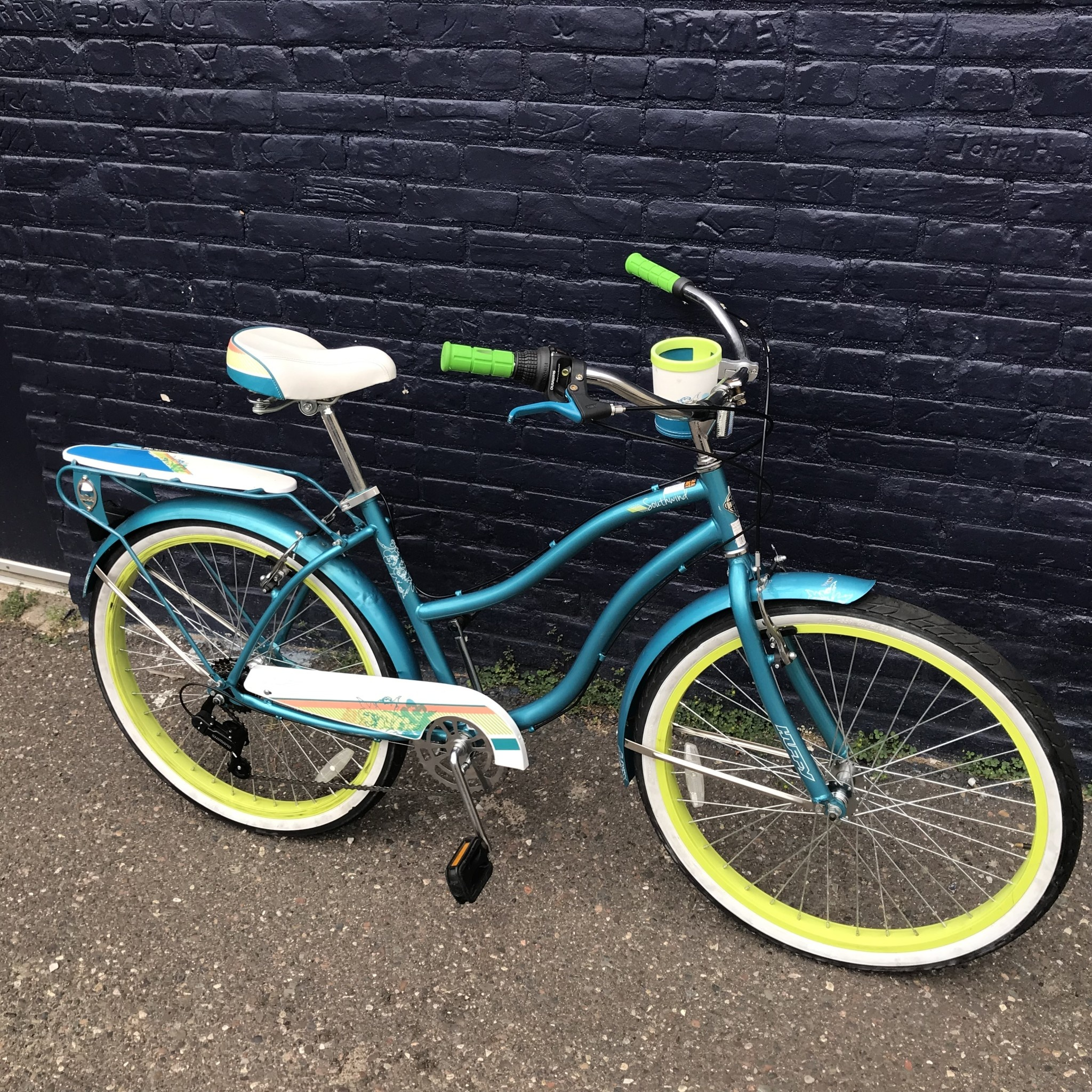Huffy Huffy Southwind Turquoise 18 in