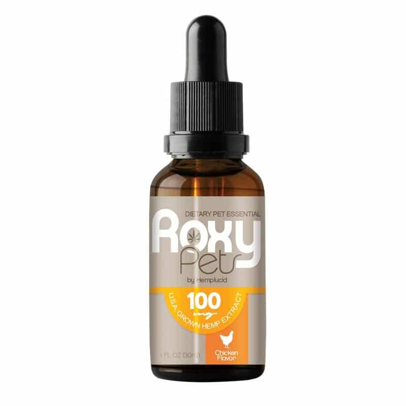 Hemplucid Hemplucid Roxy Pets for Dogs 100mg, Chicken Flavor