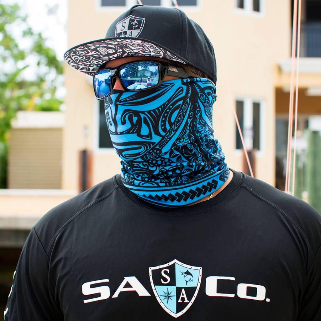 125177e40 Face Shield Polynesian Tribal - TrailWalker Gear Outfitters
