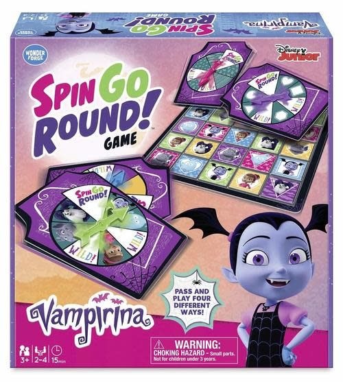 Disney Junior Disney Junior Vampirina Spin Go Round Games