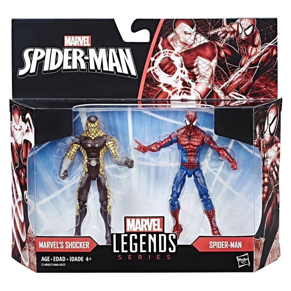 Marvel Marvel Legends Spider-Man & Shocker Figures