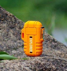 TrailWalker Gear Dual ARC Plasma Lighter, orange