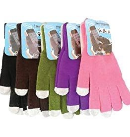Diamond Visions Inc Texting Gloves, assorted colors