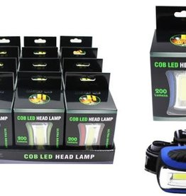 Diamond Visions Inc COB 200 Lumen LED Headlamp, assorted colors