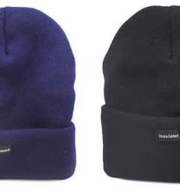Diamond Visions Inc Insulated Heavy Knit Cuffed Hat, assorted colors