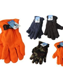 Diamond Visions Inc Thermaxx Men's Fleece Gloves, one size, assorted colors