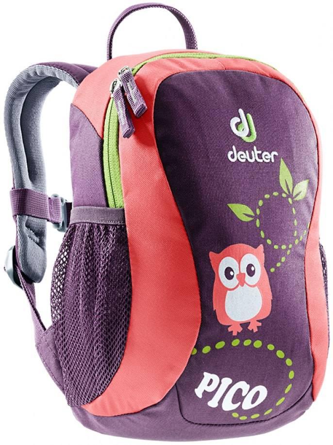 Deuter Deuter Pico Child's Backpack, plum-coral