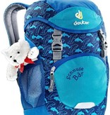 Deuter Deuter Schmusebar Child's Backpack, ocean blue
