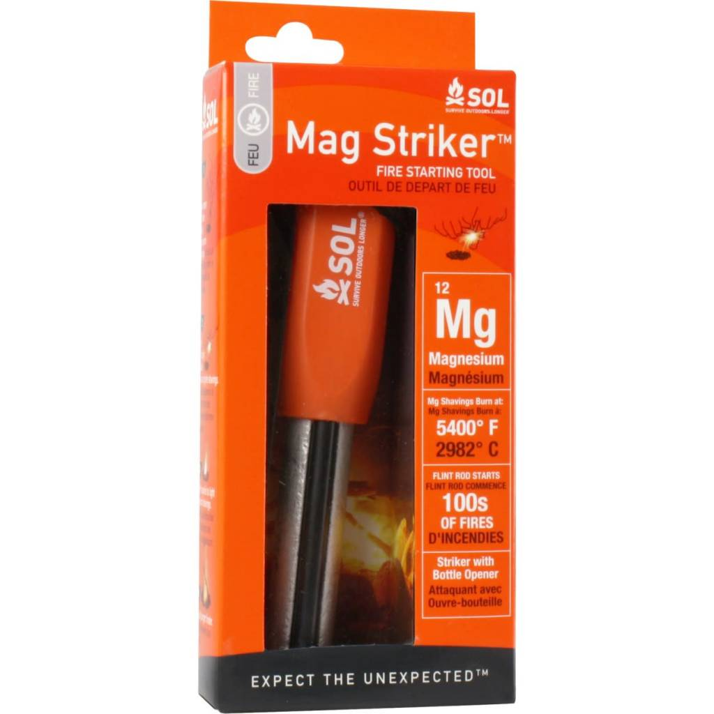 SOL SOL Mag Striker Fire Starting Tool