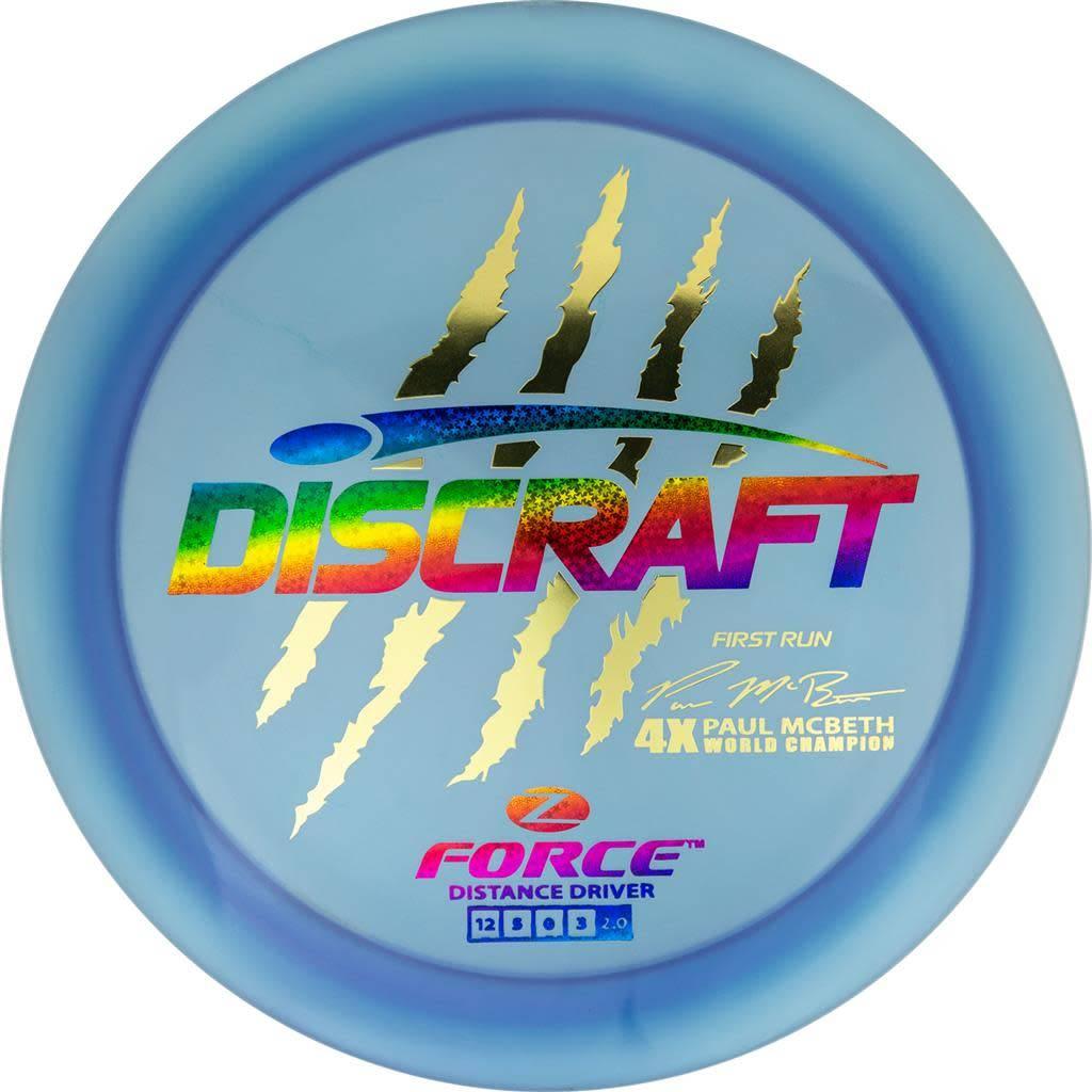 Discraft Discraft Paul McBeth (First Run) Z Force 173g-174g