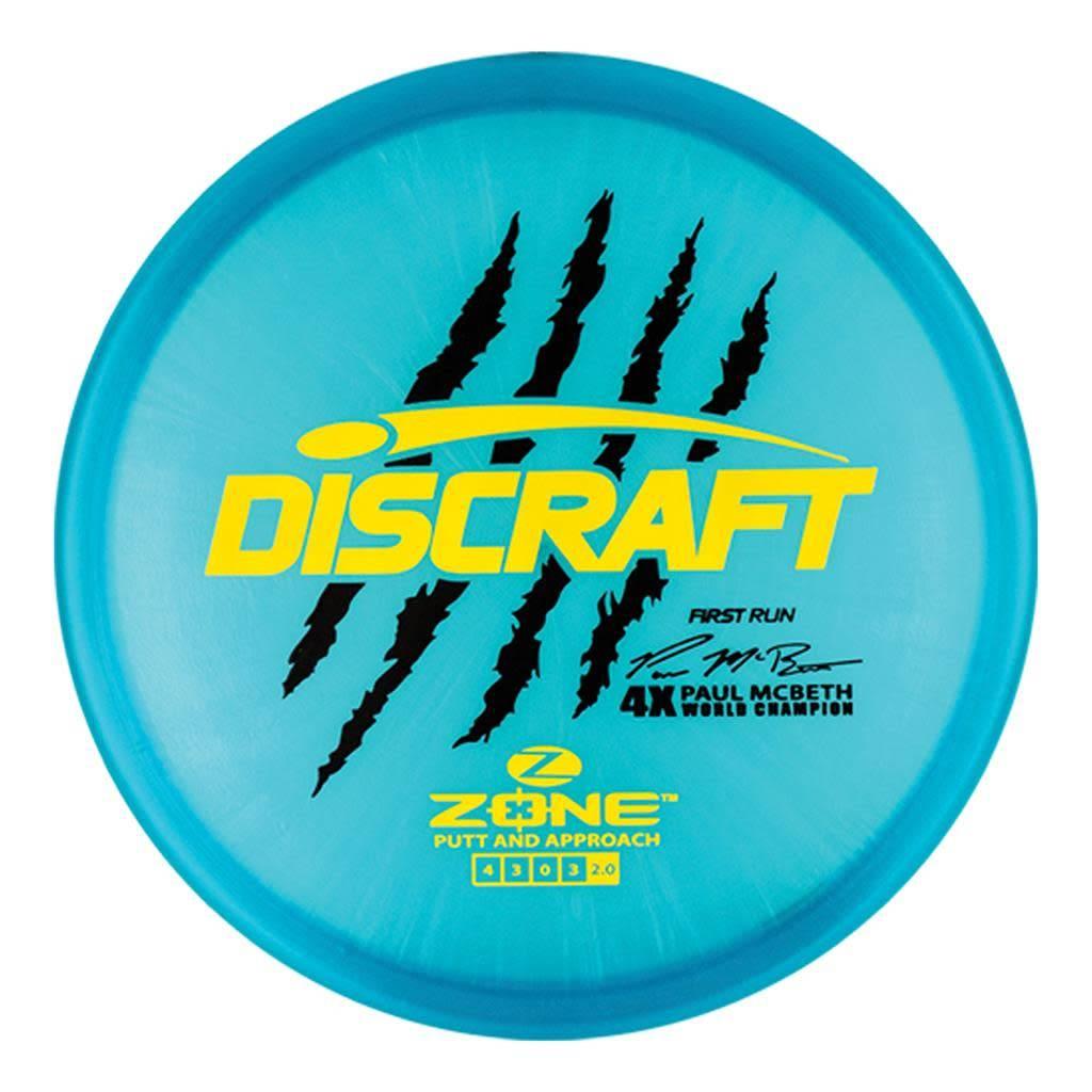 Discraft Discraft Paul McBeth (First Run) Z Zone |173g-174g
